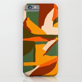A New Way Of Seeing Abstract Landscape iPhone Case