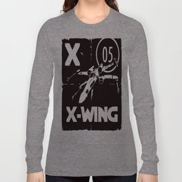 B&W X is for... Long Sleeve T-shirt