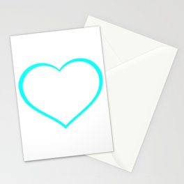 Heart outlines, love, romantic Stationery Cards