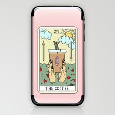 COFFEE READING iPhone & iPod Skin
