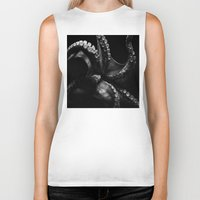 octopus Biker Tanks featuring Octopus by Bella Blue Photography