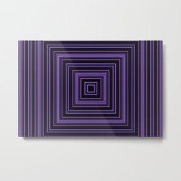 Squares and squares Metal Print