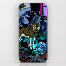 WOLF HOUSE iPhone Skin