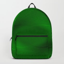 Not easy being Green Backpack
