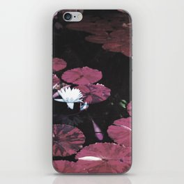 Red Pond iPhone Skin