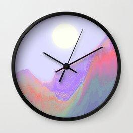 Keep on Running Wall Clock