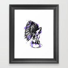 fox spirt  Framed Art Print