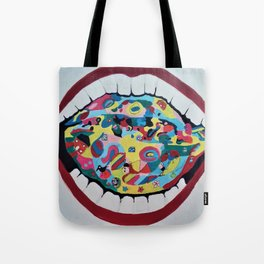 Joker Mouth. Tote Bag
