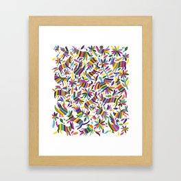 mexicanish Framed Art Print