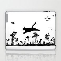 The Cat and Ink drop bombs Laptop & iPad Skin
