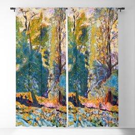 Pierre Bonnard Landscape in Normandy Blackout Curtain