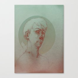 Paranoid Schizophrenia Canvas Print