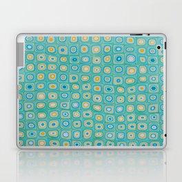 Yellow Blue Laptop & iPad Skin
