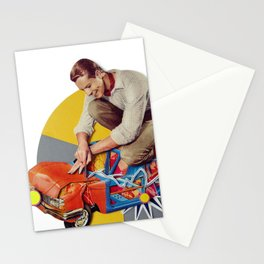 Mr Fixit | Collage Stationery Cards