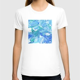 Acrylic Reef [Square] T-shirt