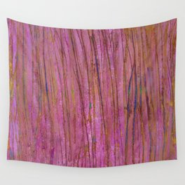 Spring dream in pink and blue Wall Tapestry