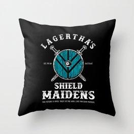 Lagertha's Sheild Maidens Throw Pillow