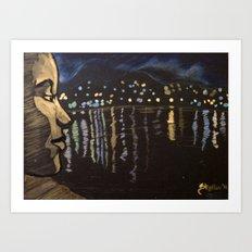 Chill... Lagoon Art Print