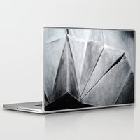 origami Laptop & iPad Skins featuring ORIGAMI by The Traveling Catburys