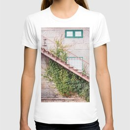 Stone House with Ivy Wall T-shirt