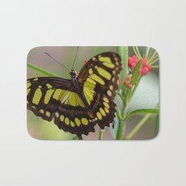 A Butterfly Bath Mat