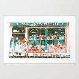 Victorian Confectioners Art Print