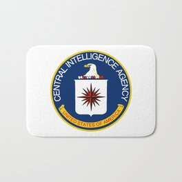 CIA Logo Bath Mat