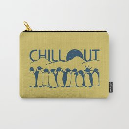 Chill Out Funny Penguin Carry-All Pouch