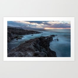 Seascape HDR in the paradise Art Print