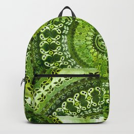Vintage Lime Mandala Backpack