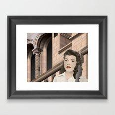 woman Framed Art Print