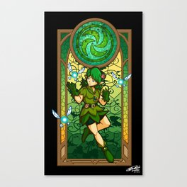 Sage of the Forest Canvas Print