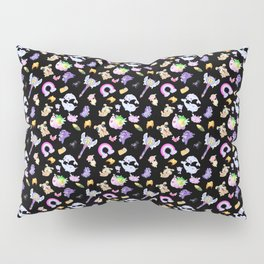 Star vs the Forces of Evil Pattern ( black ) Pillow Sham