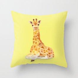 Giraffe. Throw Pillow