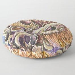 Shell Cluster Floor Pillow