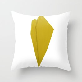 Abstract Re-Created Painting in Space Throw Pillow