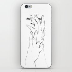Untitled Hands No. 9 iPhone Skin
