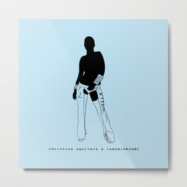 Christina Aguilera x iamamiwhoami Metal Print