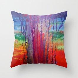 Soul Storm Throw Pillow