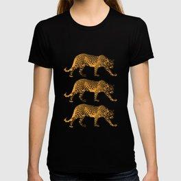 Big Cat Cool Leopards Picture T-shirt