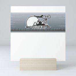 Follow me Mini Art Print