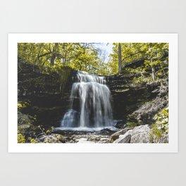 Grindstone Falls Art Print