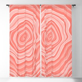 Melting Pink Coral Blackout Curtain