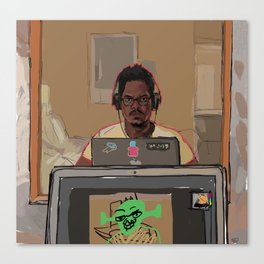 It's Me Man. Canvas Print
