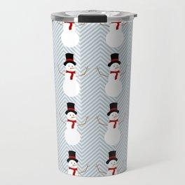 Snowman by PIEL Travel Mug