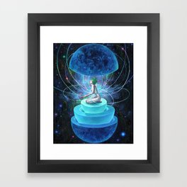 NEUTRON SEPPUKU Framed Art Print