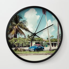 Vintage Motel Wall Clock