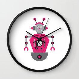 a humanoid 4 Wall Clock