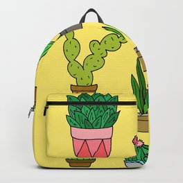 Plant Love (Bright Yellow) Backpack