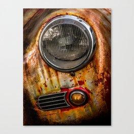 Rusty old Porsche Canvas Print